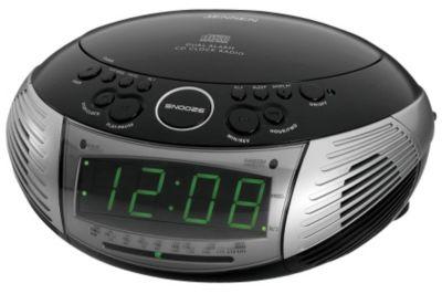 radio alarm clock usa. Black Bedroom Furniture Sets. Home Design Ideas