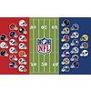 NFL Helmets / 50 Yard Line Wall Art