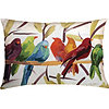 Flocked Together Accent Pillow