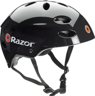 Razor V17 Child Helmet - Gloss Black