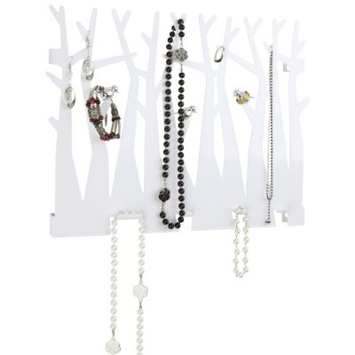 Umbra Canopy Wall Jewelry Organizer White