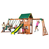 Swing Sets + Trampolines