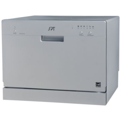 Countertop Dishwasher Made In Usa : Countertop Dishwasher - Silver (Home Home Improvement Major Appliances ...