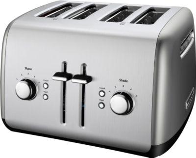 KitchenAid 4 Slice Toaster Contour Silver photo