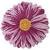 """Nourison 26"""" FloralShaped Pink Rug"""