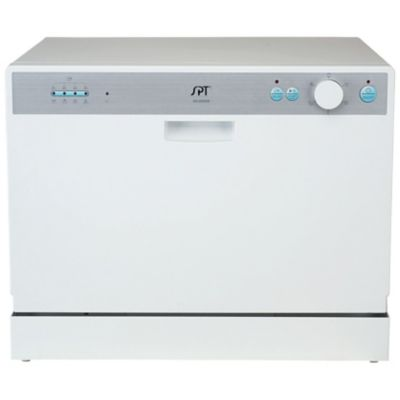 Countertop Dishwasher Manufacturers : Countertop Dishwasher - White (Home Home Improvement Major Appliances ...