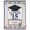 Class of 2015 Personalized Graduation Throw