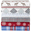 McLeland Design Cotton Knit Flannel Sheet Set