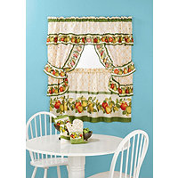 "Apple Orchard 24"" Cottage Set+3pc Accessories"