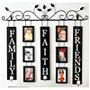 Family, Faith & Friends Wall Hanging
