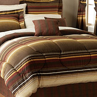 Cambridge Stripe Full 20pc Bedroom Set