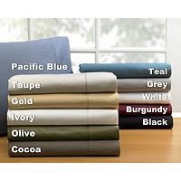 500TC Andiamo Egyptian Solid Queen Sheet Set