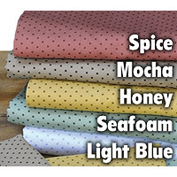 300TC Carlton Dot Queen Sheet Set