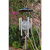 World Factory SUNergy Windlights Solar Wind Chimes