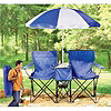 Outdoor Chair & Umbrella Set