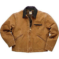 Carhartt® Sandstone Detroit Jacket-BROWN-TALL