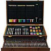 142 Pc Deluxe Wood Art Set