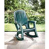 Oversized Resin Rocker-Green