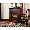 1500 Watt Cherry Electric Fireplace Heater/Mantel