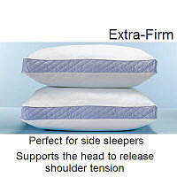 Density ExFirm Standard Pillows-2 pk