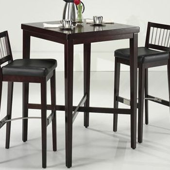 Square Pub Table Set w/2 Stools $ 599.99
