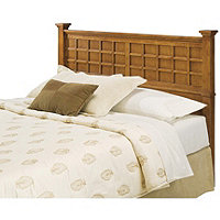Homestyles Arts & Crafts Headboard Queen Oak