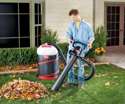 Electric Leaf Blower Toro Rake Amp Vac Vacuum System