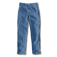 Carhartt® Relaxed Fit Tapered Leg Jean (Stonewash)