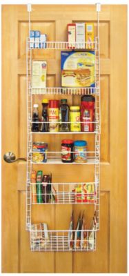 Pro Mart 6 Shelf Over The Door Pantry Organizer