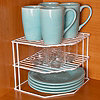 3 Tier Corner Shelf Cupboard Organizer