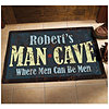 "Personalized Man Cave Mat 24"" x 36"""