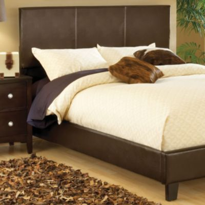 Fingerhut Mcleland Design Platform Bed Queen Brown