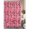 Rock Star Shower Curtain with Hooks
