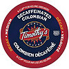 Keurig K-Cup Timothy's Columbian Decaf Coffee