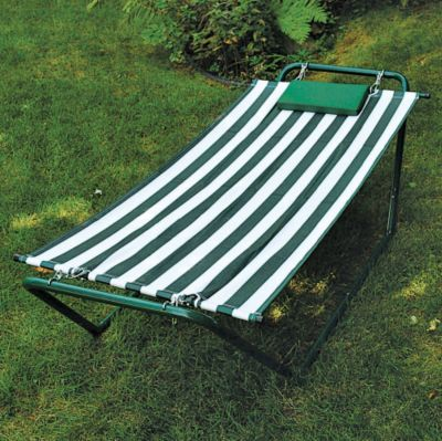 Algoma Hammock w/Stand - Special Promo Offers: Big Deals Algoma Net 4-Point Hammock Lounge