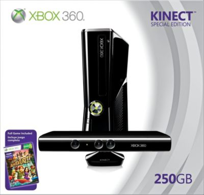 XBox 360 250GB Kinect Bundle System