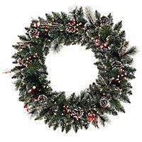 Wreaths + Garland