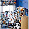 All Pro Sports Room In A Cube Bedding Set