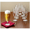 Monogrammed Pilsners Set of 8