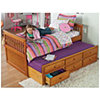 Captains Bed with Trundle & Storage Drawers