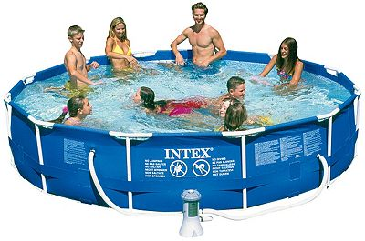 Special Promo Offers Hot Deals Intex 56995eg 12 39 X30 Metal Frame Pool Set Comparing Price List