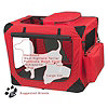 "Pet Gear 26"" Deluxe Portable Soft Crate"