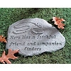 Personalized Faithful Friend Pet Memorial