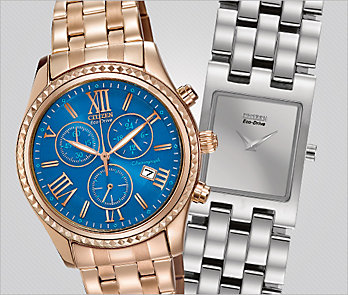 Citizen. Fashionable and functional watches. Up to 30% Off*.
