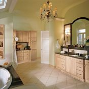 Ashton Maple Natural Bathroom Cabinets