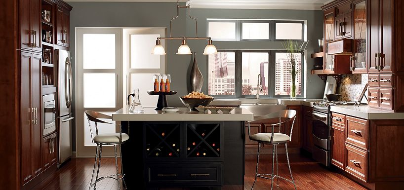 Thomasville Kitchen Cabinets in Cherry, Maple & Oak Cabinets ...