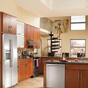 Blythe Cherry Brierwood Kitchen Cabinets