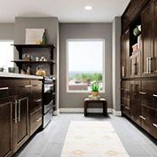 Bowen Maple Sparrow Kitchen Cabinets