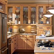 Braeburn Rustic Alder Natural Kitchen Cabinets