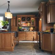 Cabbott Cherry Macaroon Kitchen Cabinets